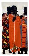 Maasai Women Beach Towel