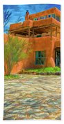 Mabel Dodge Luhan House As Oil Beach Towel
