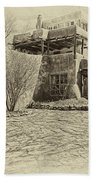 Mabel's House As Antique Print Beach Towel