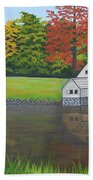 Mabry Grist Mill  Beach Towel