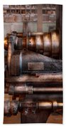 Machinist - Steampunk - 5 Speed Semi Automatic Beach Towel