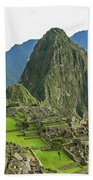Machu Picchu - Iconic View Beach Towel