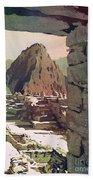 Machu Picchu Vista- Peru Beach Towel
