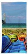 Mackinac Bridge 2240 Beach Towel