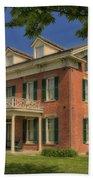 Maclay House Tipton Mo Built In 1858 Dsc01873 Beach Towel
