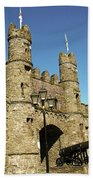 Macroom Castle County Cork Ireland Beach Towel