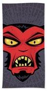 Mad Devil Beach Towel