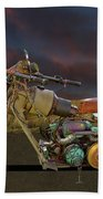 Mad Max Creater Motorcycle Beach Towel