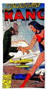 Madame Strange Female Comic Super Hero Beach Towel