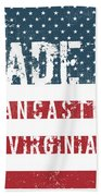 Made In Lancaster, Virginia Beach Towel