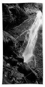 Madison Creek Falls Three Beach Towel