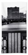 Madison Street Bridge - 3 Beach Towel