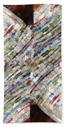 Mag 6 Abstract Painting Beach Towel