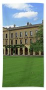 Magdalen New Building Beach Towel
