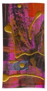 Magenta Joy Beach Towel
