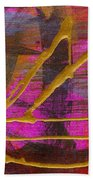 Magenta Joy Sails Beach Towel