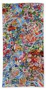 Magic Color Garden 201757 Beach Towel