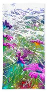 Magic Garden Beach Towel