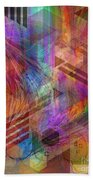 Magnetic Abstraction Beach Towel