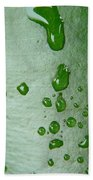 Magnifying Drops Beach Towel