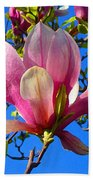 Magnolia Flower Beach Towel