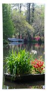 Magnolia Gardens In Charleston Beach Towel