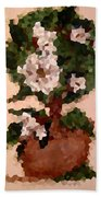 Magnolia Topiary IIi  Beach Towel