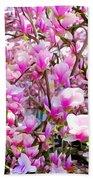Magnolia Tree Beauty #1 Beach Towel