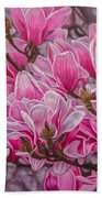Magnolias 1 Beach Towel
