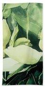 Magnolium Opus Beach Towel