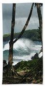 Mahama Lauhala Keanae Peninsula Maui Hawaii Beach Towel