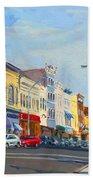 Main Street Nayck  Ny  Beach Towel