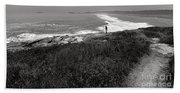 Maine Contemplation Beach Towel