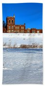 Maine Criminal Justice Academy In Winter Beach Towel