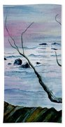 Maine Seawatch Beach Towel