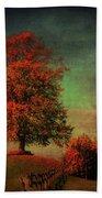 Majestic Linden Berry Tree Beach Towel