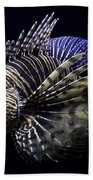 Majestic Lionfish Beach Towel