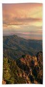 Majestic Mountain View Beach Towel