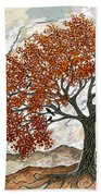Majestic Tree Beach Towel