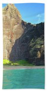 Majestic Wall Western Kauai Beach Towel