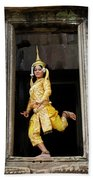 Makala Dancer In Cambodia Beach Towel