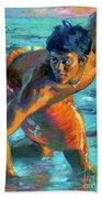 Makana Sunrise Beach Towel