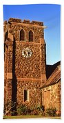 Maui Hawaii Makawao Union Church II Beach Towel