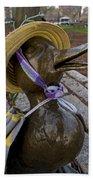 Make Way For Ducklings B.a.a. 5k Spring Bonnet Blanket Beach Towel