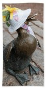 Make Way For Ducklings Beach Towel