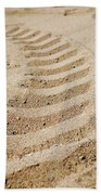 Making Tracks Beach Towel