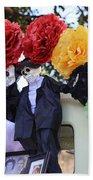 Male Female Color Doll Skeleton  Beach Sheet