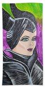 Maleficent Beach Towel