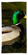 Mallard Green Beach Towel