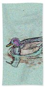 Mallards Edge Beach Towel